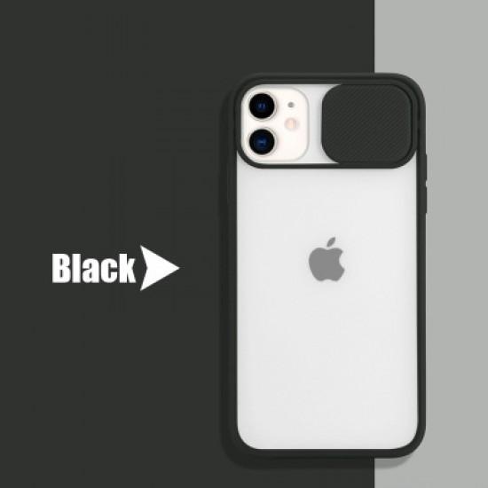 Shockproof Camera Slider Black Case