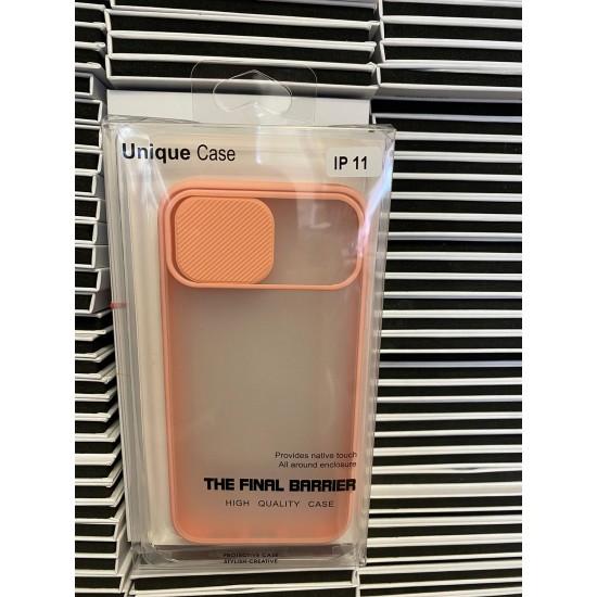 Shockproof Camera Slider Pink  Case