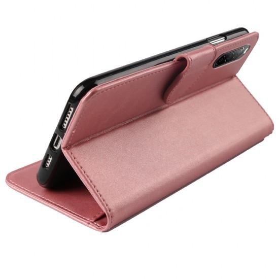 Flip Book Case Rose Gold Color