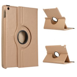 iPads Gold/Brown 360 Rotation Case
