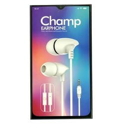 Champ T7000 Aux 3.5 Aux Earphone